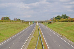 Dual Carriageway Stock Photography