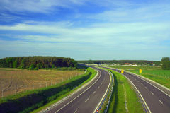 Dual carriageway Stock Image