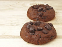 Dual chocolate chip Royalty Free Stock Photos