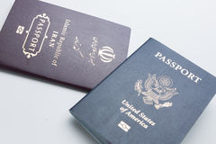 Dual citizenship Royalty Free Stock Photos