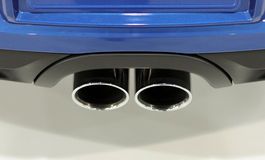 Dual Exhaust Stock Photography