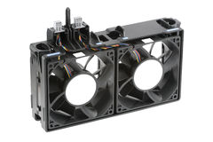 Dual-Fan Cooling Bracket Stock Image