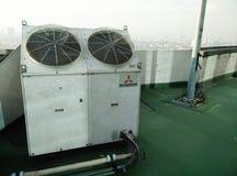 Dual fan ventilation Stock Photos