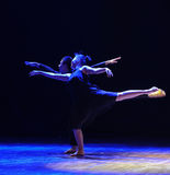 The dual flying-should've sald,I love you-Modern dance stock photography