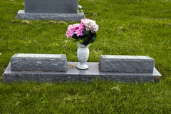 Dual Gravestone Stock Photography
