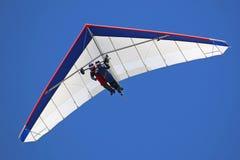 Tandem Hang Glider flying Royalty Free Stock Image