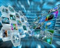 Dual interface Royalty Free Stock Photo