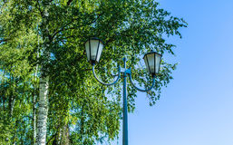 Dual lamp Royalty Free Stock Images