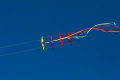 Dual line stunt kite stack 11 royalty free stock photos