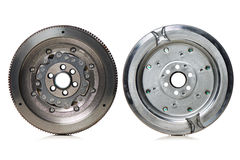 Dual-Mass Flywheel front and back view Royalty Free Stock Photography