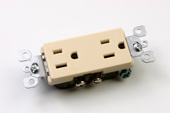 Dual Outlets Stock Image