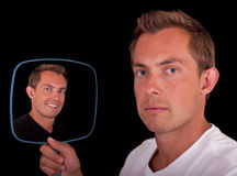 Dual personality Royalty Free Stock Photography