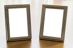Dual photo frames Royalty Free Stock Photo
