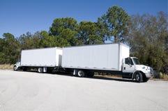 Dual Trucks Royalty Free Stock Photo
