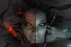 dualité Images stock