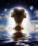 dualności natura ludzka Fotografia Royalty Free