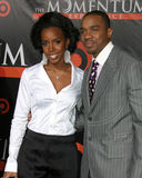 Duane Martin,Kelly Rowland Stock Photo