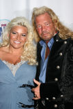 Duane 'pies łowcy nagród' Chapman Beth & żona Realiity Nagradza 2008 - Beverly Hills, CA zdjęcie stock