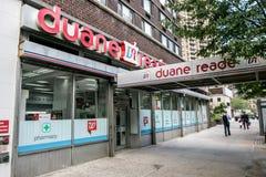 Duane Reade Photographie stock