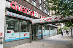 Duane Reade. New York, September 28, 2016: A Duane Reade store front Stock Photography