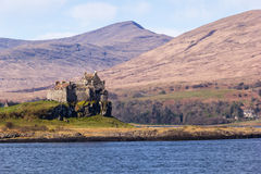 Duart Castle Royalty Free Stock Photo