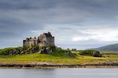 Duart Castle. In daylight, Isle of Mull, Scotland Royalty Free Stock Image