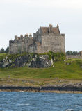 Duart castle on the isle of mull Royalty Free Stock Photo