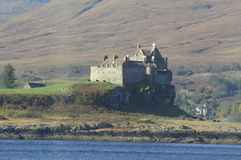 Duart Castle, Scotland royalty free stock photo