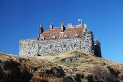 Duart Castle in Scotland Stock Image