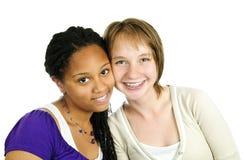 Duas amigas Imagens de Stock