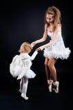 Duas bailarinas bonitas Foto de Stock Royalty Free