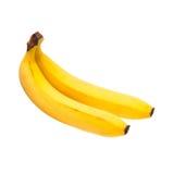 Duas bananas fotografia de stock