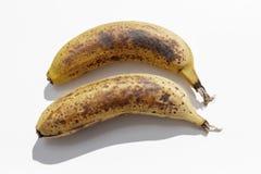 Duas bananas maduras imagens de stock royalty free