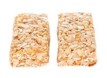 Duas barras do cereal Fotos de Stock