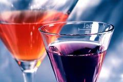 Duas bebidas Imagens de Stock Royalty Free