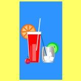 Duas bebidas Imagem de Stock