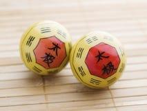 Duas bolas de Baoding Foto de Stock Royalty Free