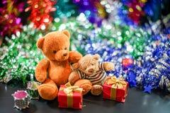 Duas bonecas do urso Imagem de Stock Royalty Free