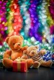 Duas bonecas do urso Fotografia de Stock