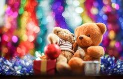 Duas bonecas do urso Imagem de Stock