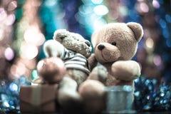 Duas bonecas do urso Fotos de Stock Royalty Free
