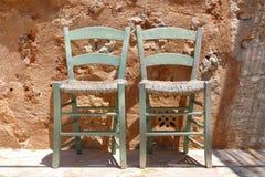 Duas cadeiras Foto de Stock