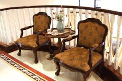 Duas cadeiras Fotografia de Stock Royalty Free