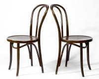 Duas cadeiras de Bentwood Imagens de Stock Royalty Free