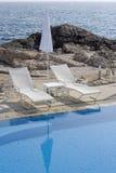 Duas cadeiras de plataforma fotos de stock royalty free