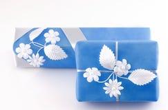 Duas caixas de presentes Imagens de Stock Royalty Free