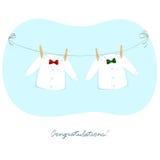 Duas camisas Imagens de Stock Royalty Free