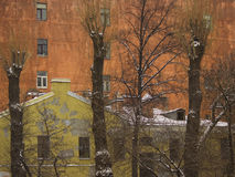 Duas casas Imagens de Stock Royalty Free