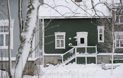 Duas casas de campo suíças do estilo fotos de stock royalty free