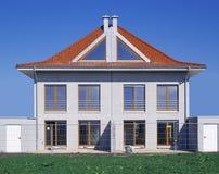 Duas casas destacadas Imagem de Stock Royalty Free